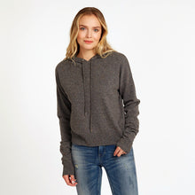 Load image into Gallery viewer, Boxy Hoodie with Scrunch Sleeves