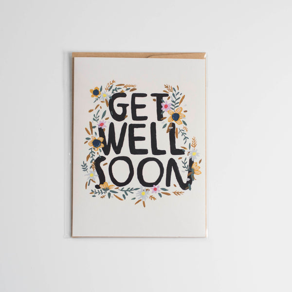 Bless The Messy Get Well Soon Card