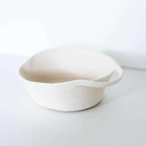 Northside Knit Co. Handle Basket