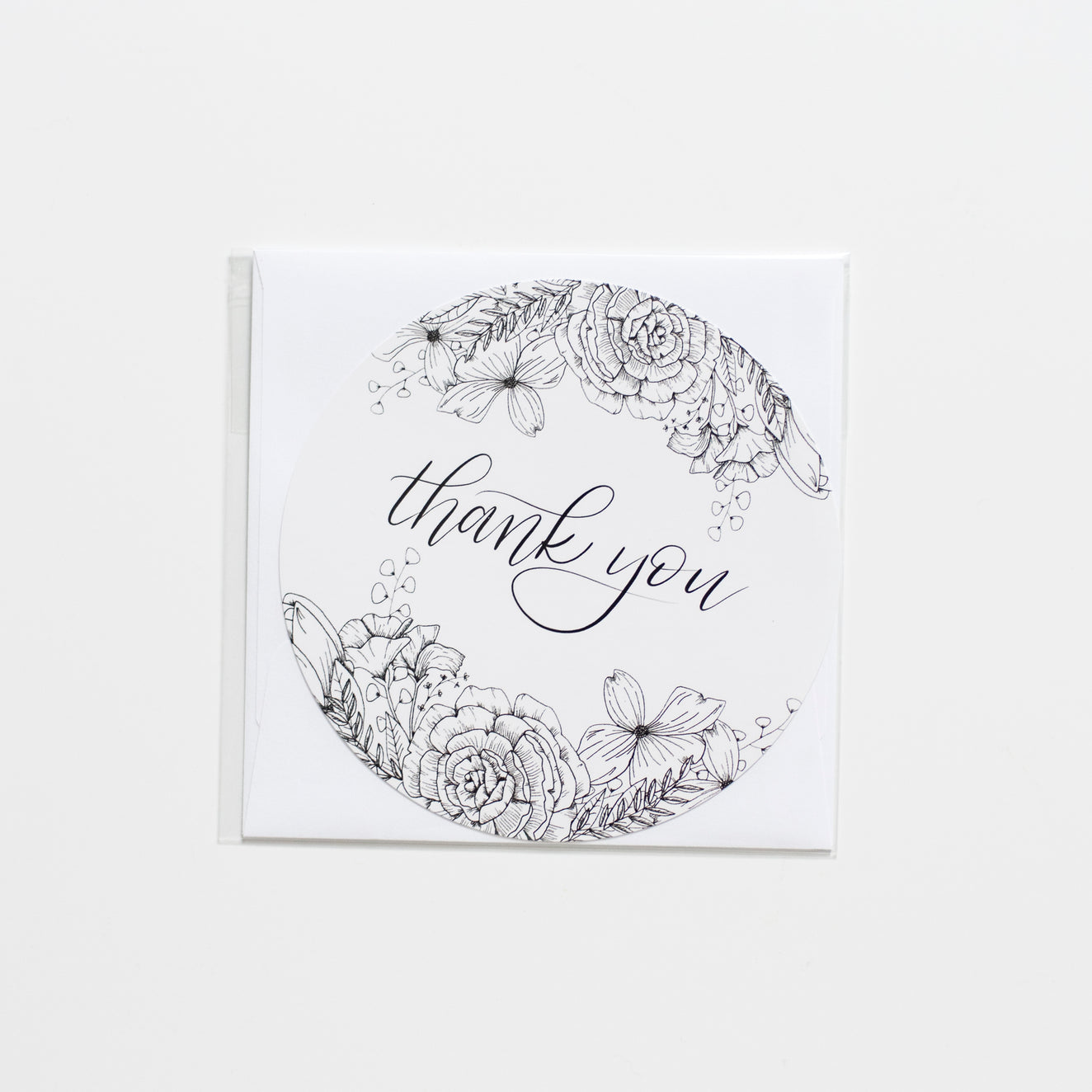 The House of Roushey: Thank You Card