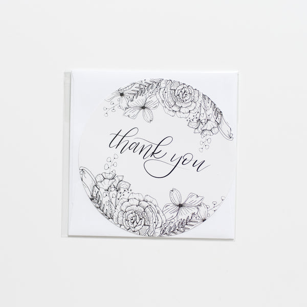 The House of Roushey Thank You Card