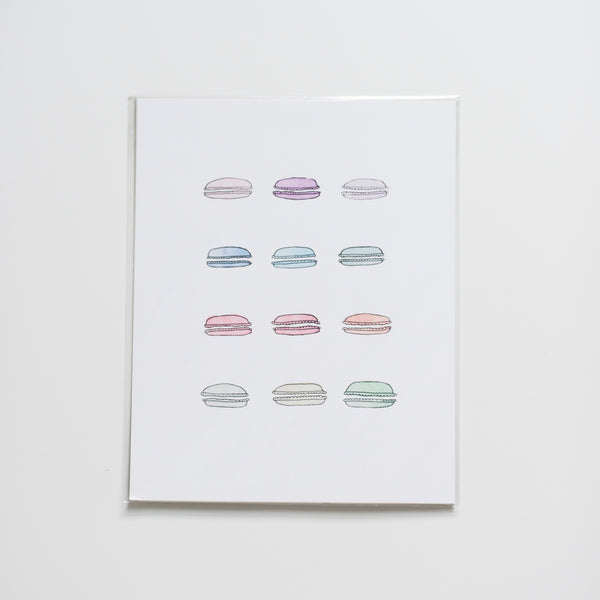 The House of Roushey French Macarons Print