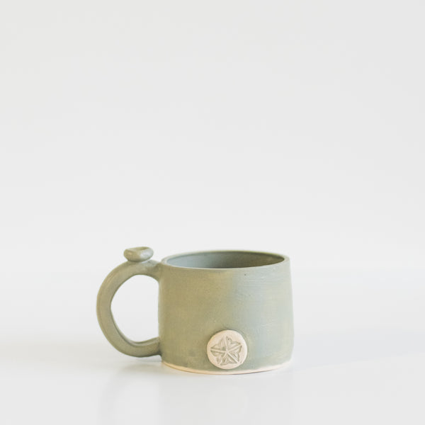 Rochester, NY Thumb Rest Mug By Ritual Clay Co.