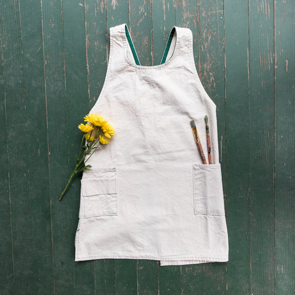Duck Canvas Apron by Woodside Studio