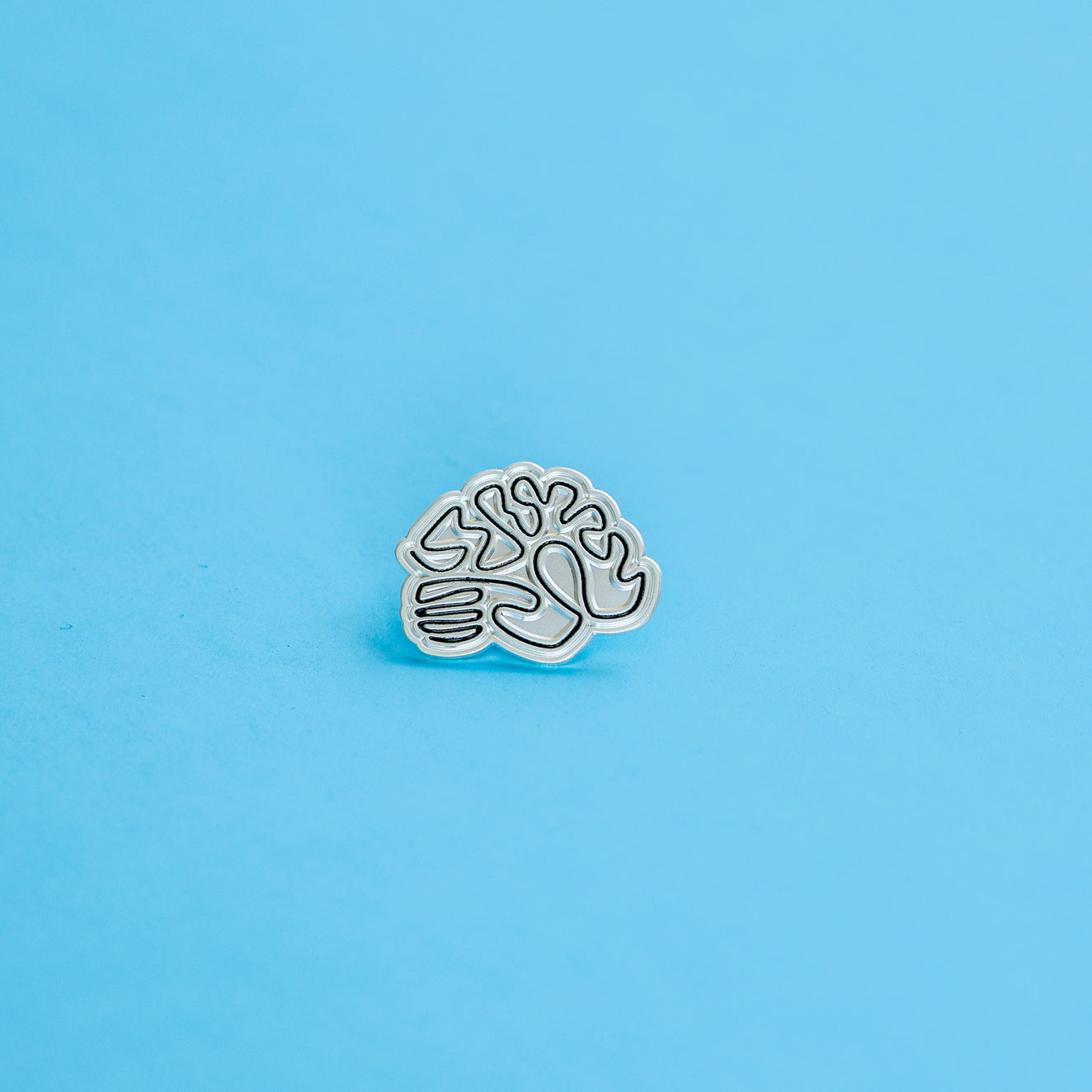 Rochester Brainery Pin