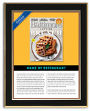 Brunch Feature 2018 Plaque