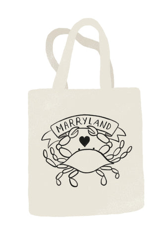 """Marryland"" Tote Bag"