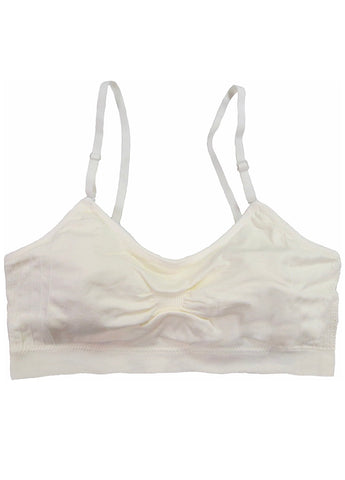 Seamless T shirt bra in ivory by Coobie