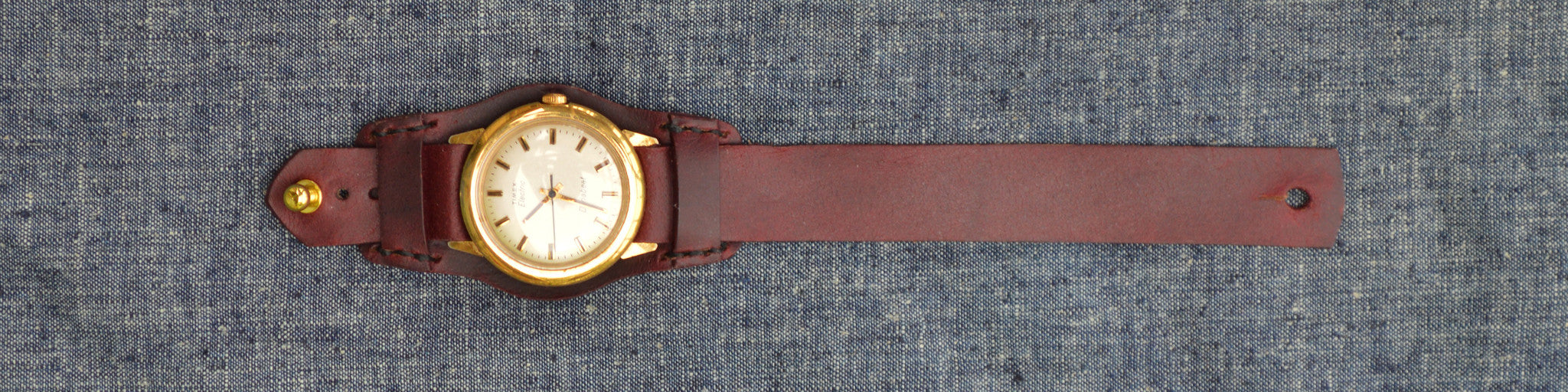 Button Stud Watch Strap