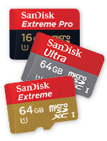 price difference for memory card