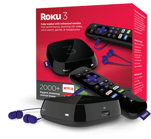 Roku 3 Online Media Streaming Player (2015 Model)