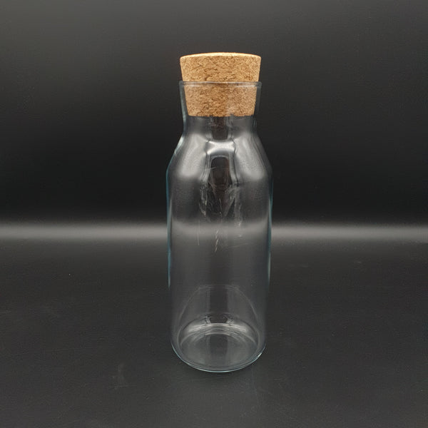 500ml Glass Bottle with Cork - Cocktail Corner