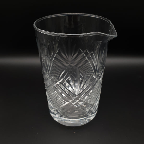 Cut Crystal Mixing Glass - Cocktail Corner