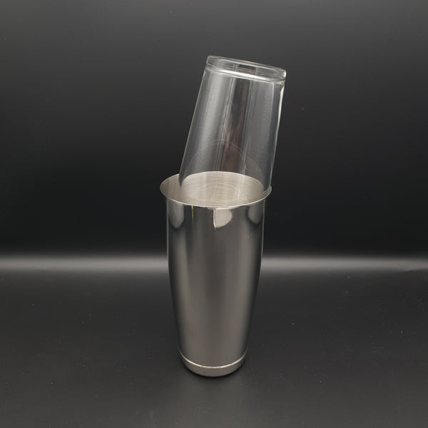 Classic Boston Shaker Set with Tempered Glass - Cocktail Corner