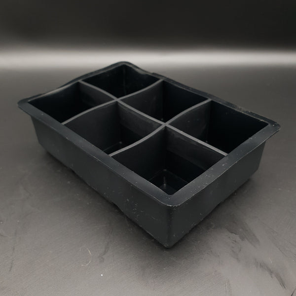 6 Cube 45mm Silicon Ice Tray - Cocktail Corner