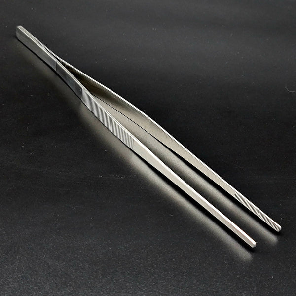 Large Cocktail Garnish Tweezers 30cm - Stainless - Cocktail Corner