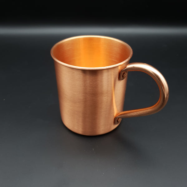 Pure Solid Copper Mule Mug 14oz 410ml - Cocktail Corner