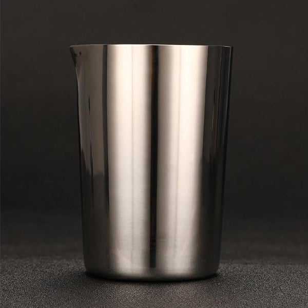 Stainless Mixing Tin With Spout - Cocktail Corner