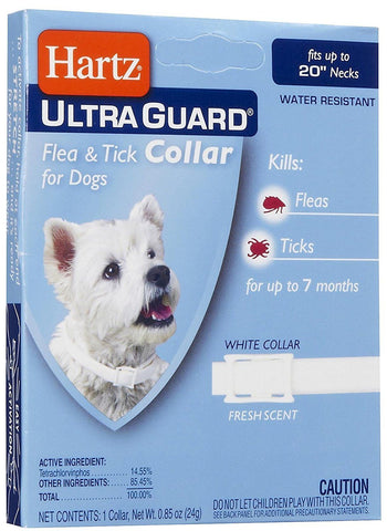 Hartz UG fleas and ticks 20 inch necks