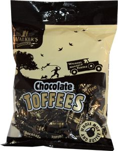 Walkers De Ruiter Chocolate toffees