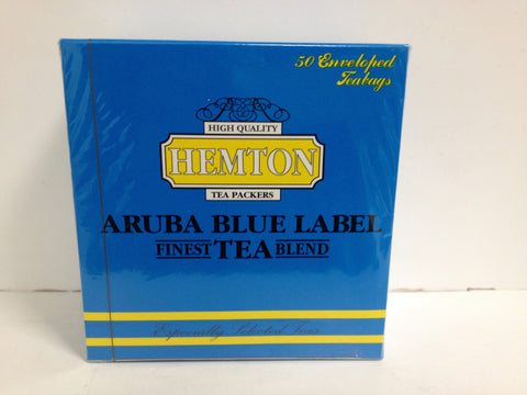 Hemton Tea Aruba Blue Label 50 enveloped teabags