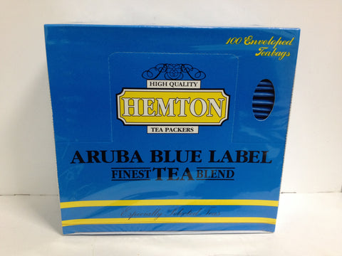 Hemton Tea Aruba Blue Label 100 enveloped teabags