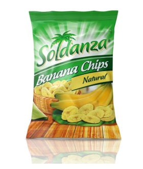 Soldanza Banana Chips Natural 1.48 oz