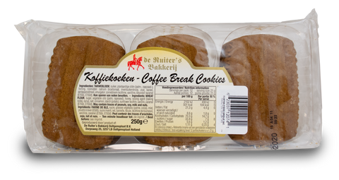 De Ruiter's Koffiekoeken - Coffee Break Cookies 250g