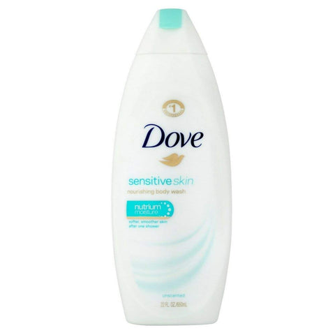 Dove Body Wash Sensitive Skin Unscented