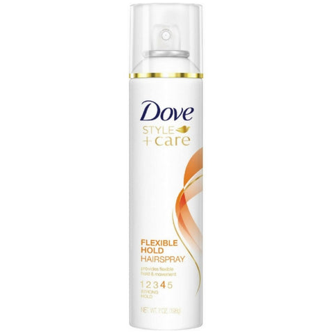 Dove Style + Care Flexible Hold Hairspray, Strong Hold 7 oz