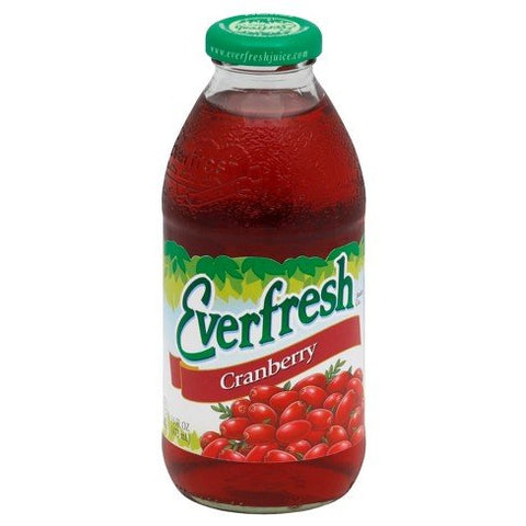 Everfresh Juice Cranberry 16 oz