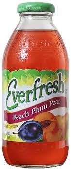 Everfresh Juice Peach Plum Pear 16 oz