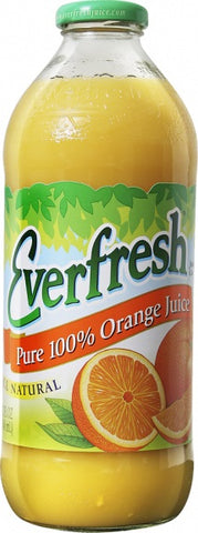 Everfresh Juice 100% Orange 16 oz