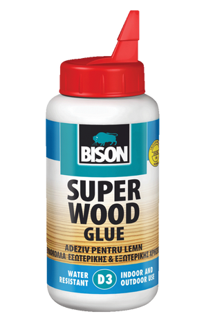 Bison wood superglue