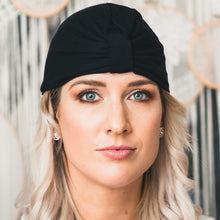 Load image into Gallery viewer, Matte Black Turban