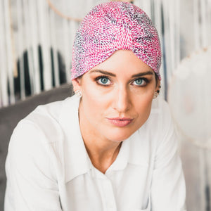 Shades of Pink Turban