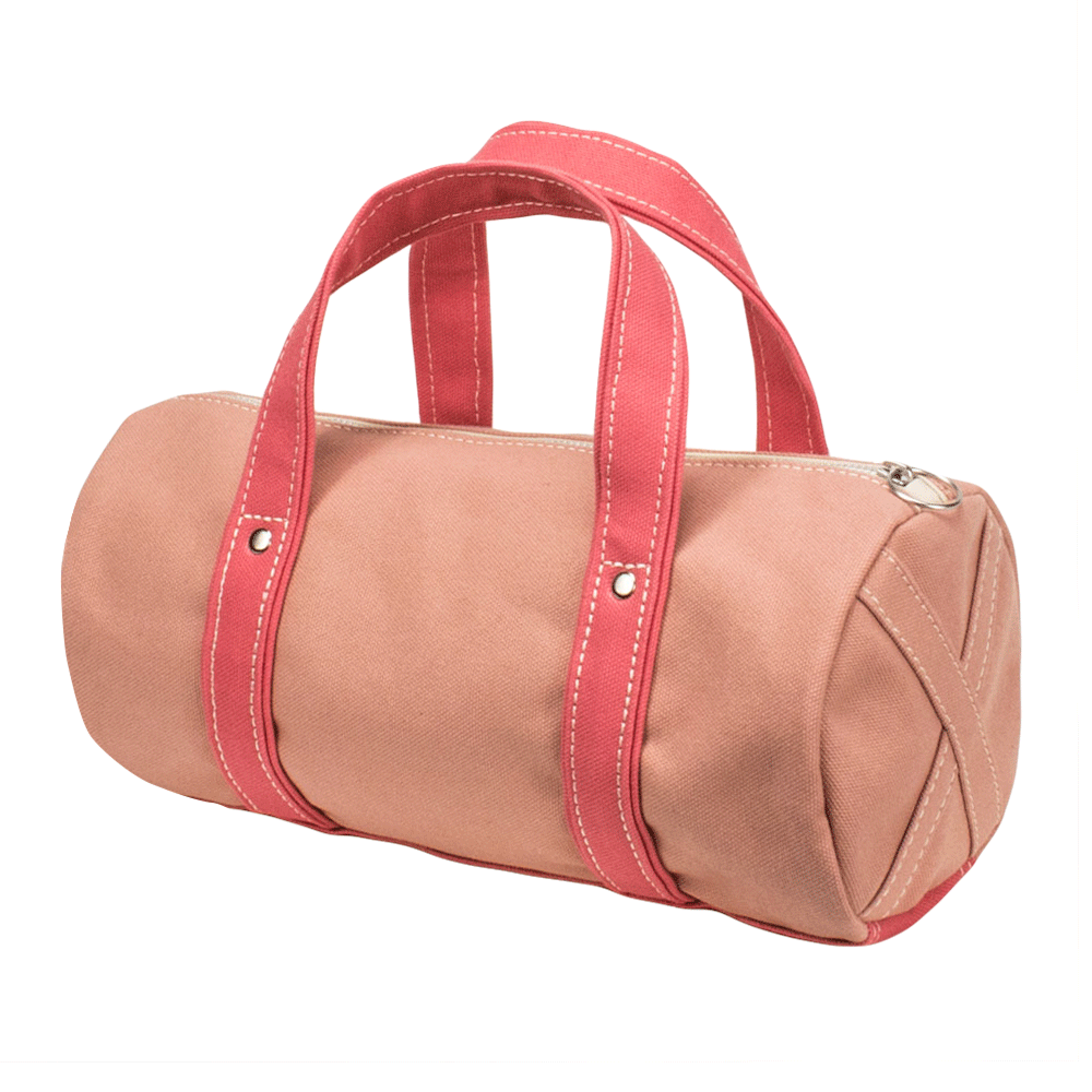 BOSTON TOTE - Coral × Pink