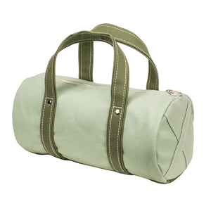 BOSTON TOTE - Mint × Moss Green