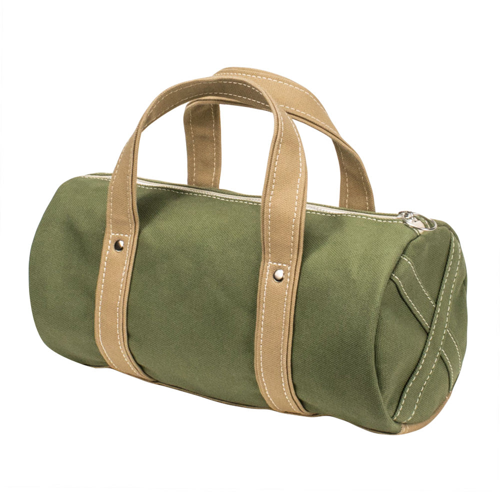 BOSTON TOTE - Moss Green × Cork