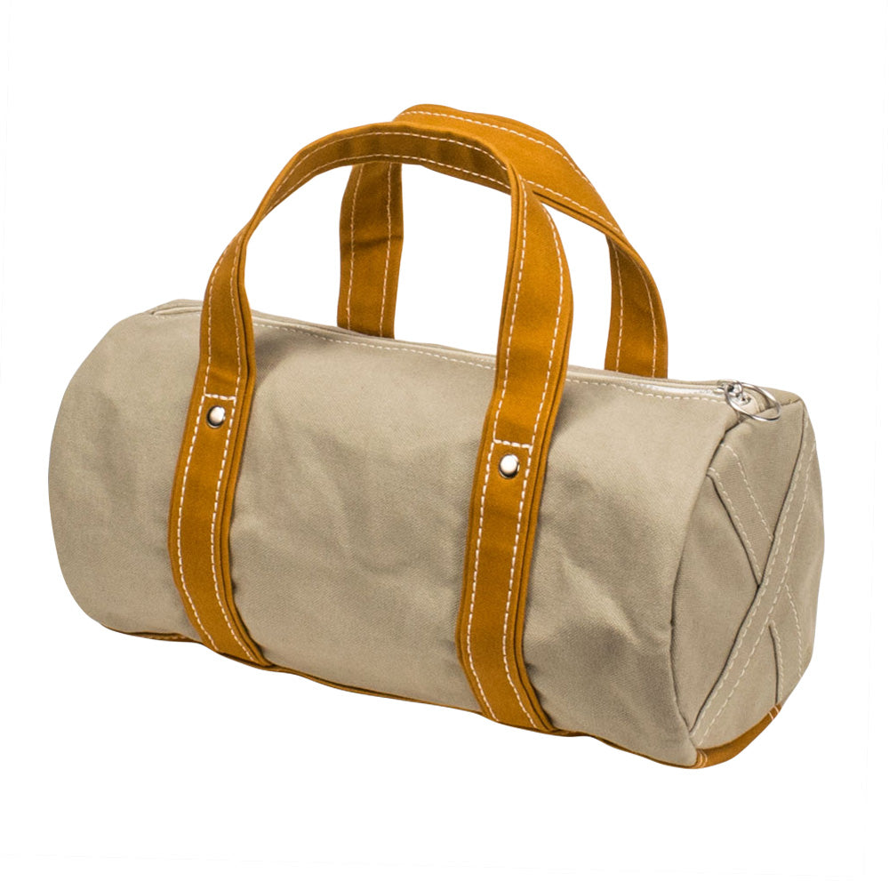 BOSTON TOTE - Sand Beige × Yellow Ocher