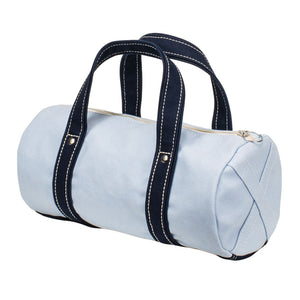 BOSTON TOTE - Saxe × Navy