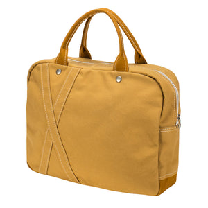BRIEF TOTE - Camel × Yellow Ocher