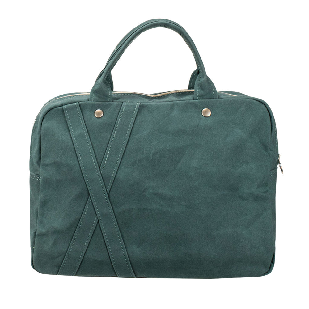 BRIEF TOTE - Forest Green
