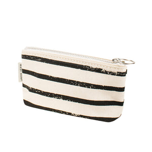 COIN CASE - Black Stripe