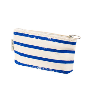 COIN CASE - Blue Stripe