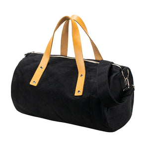 DUFFLE SHOULDER - Black