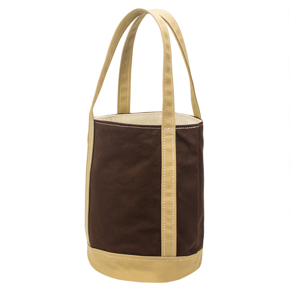FLOAT TOTE - Brown × Cork Beige