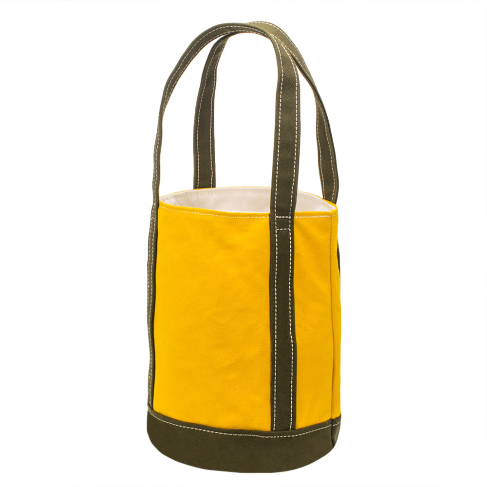 FLOAT TOTE - Deep Yellow × Khaki
