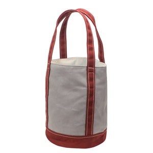 FLOAT TOTE - Gray × Terracotta