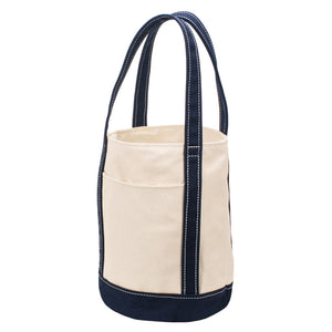 FLOAT TOTE - Natural × Navy